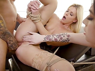 Amilia Onyx Brought to Heel by India Summer and Derrick Pier India Summer