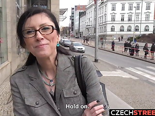 Czech Czech MILF Secretary Picked up and Fucked