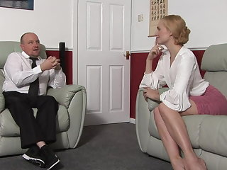 Whipping Blondes do have more fun (spanking)!