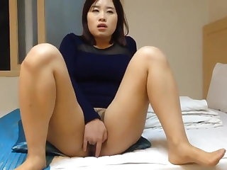 Gaping Korean Foreplay then Load Relief