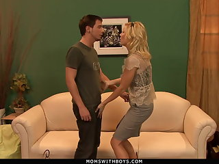 CFNM MILF Holly Sampson Fucks Her New Husband's Grandson