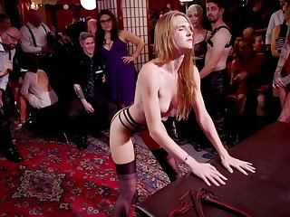 Whipping Sluts are DP'd at Swingers' Orgy