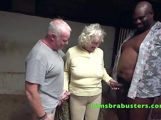 Danish Claire Knight fucked at the stables