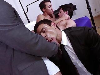 Group Sex Diesel & Matias - with Joey & Rafael