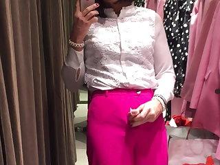 Pantyhose Pink throusers