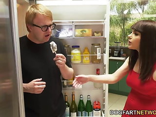 Gothic Valentina Nappi Gets DP In Front Of Cuckold Husband
