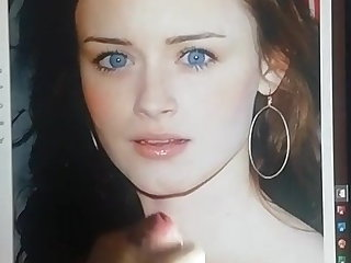 College Alexis Bledel cumtribute 4
