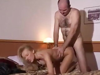 Amateur Ukrainian Blonde Slut Gets Fucked Hard in a Hotel