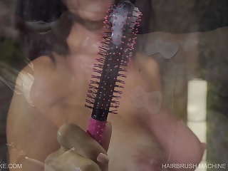Hogtied Hairbrush Machine - Queensnake.com - Queensect.com