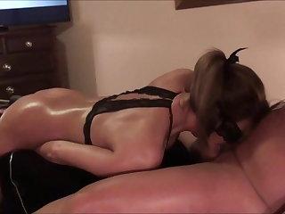 Sybian Sophie's Sucks Big Cock While Fucking Machine Ramming