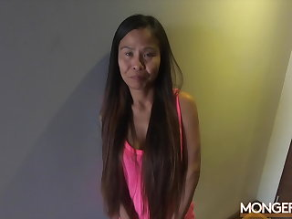 Maid Desperate For Work, She Agrees to Bang the Boss