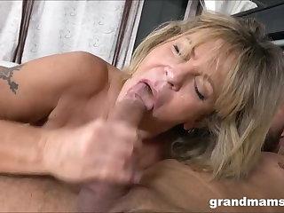 Grannies Grandmas just love young cocks