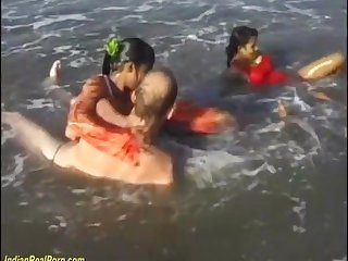 Bangladeshi indian sex orgy on the beach